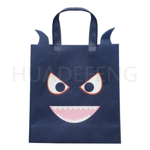 Cute Halloween Children Handbags Shaped Non Woven Candy Jelly Bag